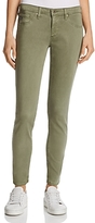 AG Jeans Sateen Ankle Legging Jeans in Sulfur Harvest Olive