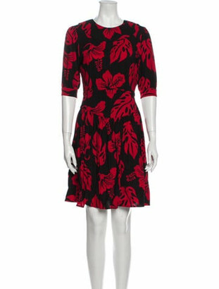 Prada 2013 Mini Dress Red