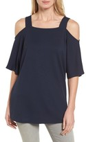 Halogen Women's Cold Shoulder Tunic Top