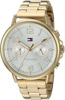 Tommy Hilfiger Women's 1781732 CASEY Analog Display Quartz Gold Watch