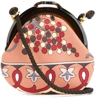 Emilio Pucci Pre Owned 1980's Printed Crossbody Bag