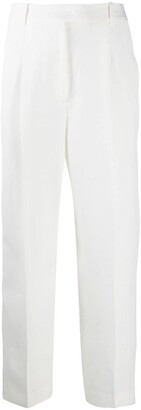 Ermanno Scervino High-Waisted Pleat Detail Trousers