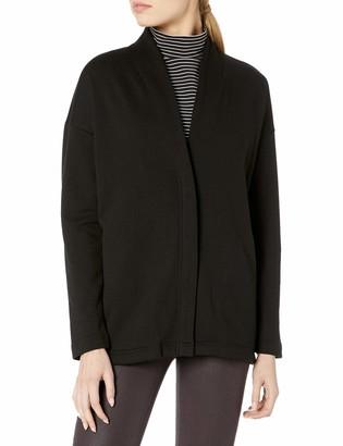 Kensie Women's Cozy Fleece Zipper Sweater Jacket