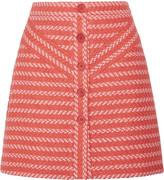 Maje Jalil tweed mini skirt