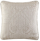 J Queen New York Wilmington Patchwork Jacquard Square Pillow