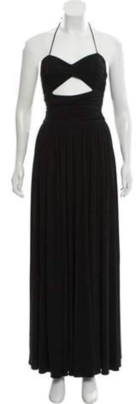 Michael Kors Strapless Cut-Out Dress Black Strapless Cut-Out Dress