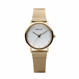 Bering Womens Analogue Quartz Watch with Stainless Steel Strap 13426-334