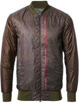 Yoshio Kubo skull print bomber jacket - men - Polyester - 1