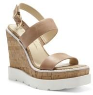 Jessica Simpson Women's Maede Platform Wedge Sandals Women's Shoes