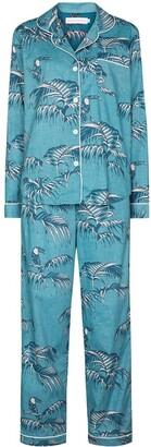Desmond & Dempsey Bocas cotton pyjama set