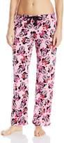 Disney Women's Character Fleece Pajama Pants, Pink