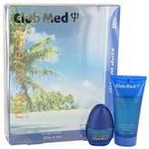 Coty Club Med My Ocean by for Men Gift Set - .33 oz Mini EDT Spray + 1.85 oz Hair & Body Wash