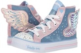 Skechers Twinkle Toes - Shuffles 10758L Lights Girl's Shoes