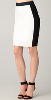 Mason By Michelle Mason Leather Pencil Skirt