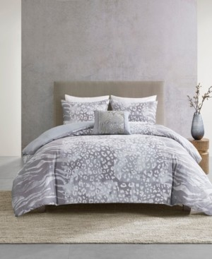 Natori Dohwa 3 Piece Comforter Set - Full/Queen Bedding