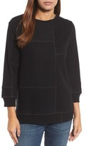 Eileen Fisher Women's Colorblock Cashmere Sweater