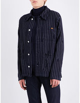 Anglomania Pinstripe cotton jacket