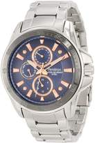 Armitron Men's 20/4838BRSV Stainless Steel Silver-Tone Dial Bracelet Watch