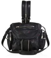 Alexander Wang Mini Marti Convertible Embroidered Leather Backpack