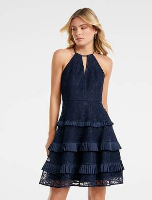 Ever New Elandra Lace Halter Dress