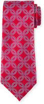 Charvet Etched Flower Silk Tie