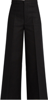 Isabel Marant Steve wide-leg cropped trousers