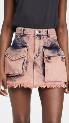 Marques Almeida Patch Pocket Mini Skirt