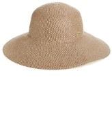 Eric Javits Women's 'Hampton' Straw Sun Hat - Brown