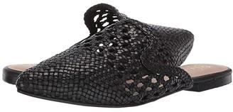 42 GOLD Corra (Black Leather) Women's Flat Shoes