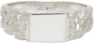 Hatton Labs Silver Chaps Links Ring