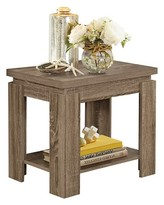ACME Furniture End Table Dark Taupe - ACME