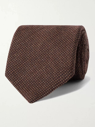 Anderson & Sheppard 9cm Virgin Wool-Blend Tie
