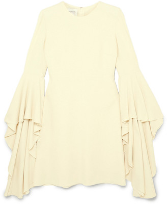 Giambattista Valli Fluted Crepe Mini Dress