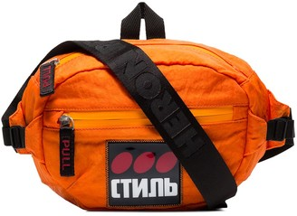 Heron Preston CTNB logo patch belt bag