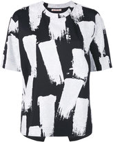 Marni painterly brush stroke t-shirt - women - Polyamide/Spandex/Elastane/Viscose - 36