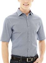 Claiborne Short-Sleeve Fashion Woven Shirt