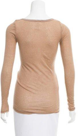 Vanessa Bruno Long-Sleeve Cashmere Top
