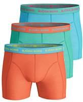 Bjorn Borg Men's 3p Shorts Seasonal Solids