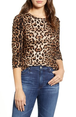 Bobeau Bishop Sleeve Top
