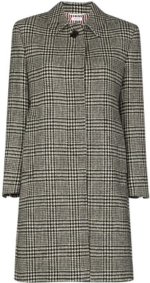 Thom Browne Checked Houndstooth Coat