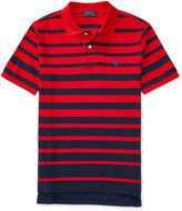 Ralph Lauren Striped Polo Shirt, Big Boys (8-20)