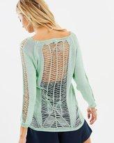 Elliatt Canvas Knit Top