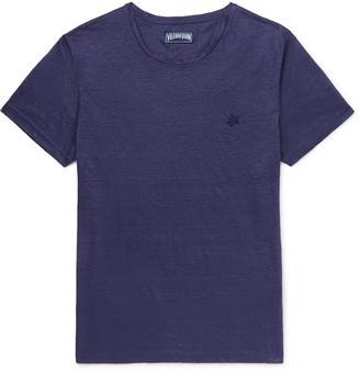 Vilebrequin Tiramisu Slim-Fit Slub Linen T-Shirt