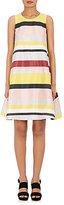 Lisa Perry Women's Striped Sleeveless A-Line Dress