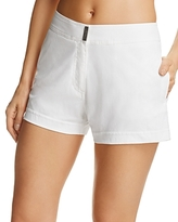 Vilebrequin White Swim Cover-Up Shorts