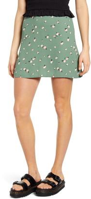 BP Print Mini Skater Skirt