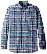 Cutter & Buck Men's Long Sleeve Richmond Plaid Shirt