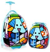 Heys Britto Blue Dog 2-Pc. Luggage & Backpack Set