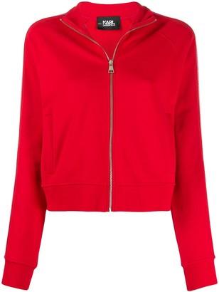 Karl Lagerfeld Paris zipped-up jacket