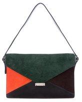 Celine Ponyhair Diamond Shoulder Bag